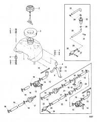 Схема ТОПЛИВНЫЙ БАК (СЕРИЙНАЯ ГРУППА №2)