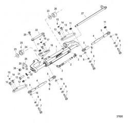 Комплект тяги – строенный (892789Q12 -Q14) 26-30