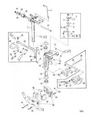 Схема Шарнирный кронштейн в сборе