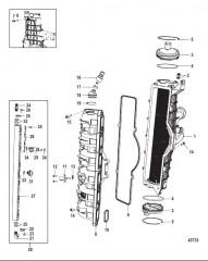 Охладитель нагнетаемого воздуха/впускной коллектор (Gen II) обслуживание распространяется на колпачок