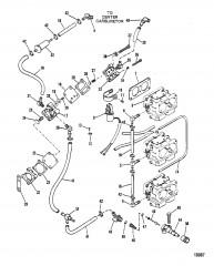 Топливный насос (Конструкция III) (квадратный топливный насос)