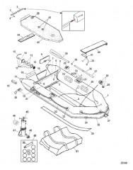 Схема Модели Air Deck (Светло-серый – модели 2006)