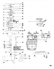 Схема Двигатель для тралового лова в сборе (Модель L43RF / AG43RF) (12 В)