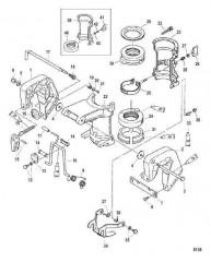 Схема Кронштейны фиксатора
