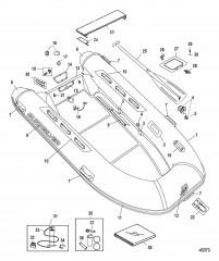 Quicksilver OceanRunner (ПВХ) – модель 410 (2010/2011)