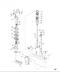 Картер редуктора Ведущий вал – стандартное вращение/противовращение, SportMaster