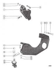 Схема Монтаж трансмиссии и двигателя (БОРТОВЫЕ ДВИГАТЕЛИ)