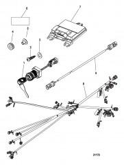 Комплект блока управления Консольное крепление – DTS (двойной)