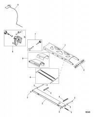 Схема Верхнее крепление Соленая вода