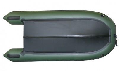 Надувная ПВХ лодка «Комбат CMB-360» (темно-серая) Изображение 2