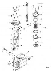 Компоненты топливного модуля – Bravo (С/н 1A349420 и выше)