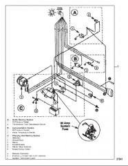 Схема WIRING HARNESS (ENGINE)