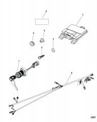 Комплект блока управления Тонкий нактоуз – DTS