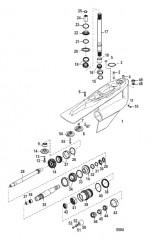 Схема Картер редуктора (Bravo III)