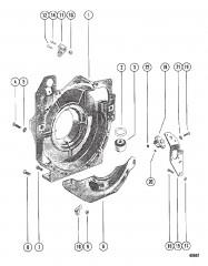 Схема Корпус маховика в сборе (MCM)
