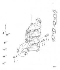 Схема Выхлопной коллектор