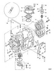 Схема Блок цилиндра С/н 0N162744 и выше
