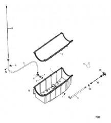 Схема Маслосборник и сливная система