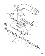 Exhaust Manifold / Elbow (420 GIL System)