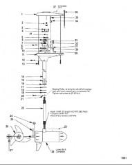 Двигатель для тралового лова в сборе (Модель TE109V) (36 В)