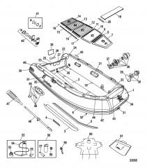 Модели Trimax (Алюминиевый настил, 340)