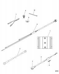 Комплект изолятора, сдвоенный/строенный – рулевой механизм с усилителем (8M0134605/8M0134606)