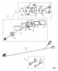 Комплект системы управления дифферентом Active Trim DTS, высокопроизводительный подвесной и MerCruiser