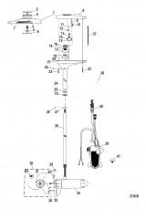 Двигатель для тралового лова в сборе (TR70LFBD) (24 В)