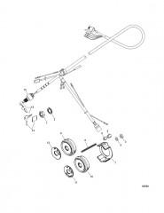 Схема Замок зажигания в сборе (10-конт. AMP) С воздушной заслонкой и звуковым сигналом