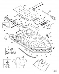 Модель Mecury Heavy Duty 365 (С алюминиевым настилом)