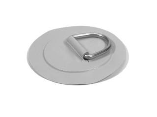 D-ОБРАЗНОЕ КОЛЬЦО Большой размер – нержавеющая сталь и светло-серая ткань ПВХ – круглое (15 см) Аватар
