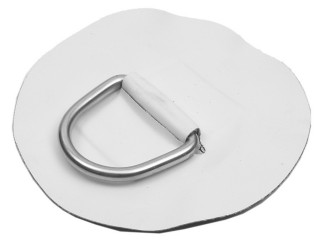 D-ОБРАЗНОЕ КОЛЬЦО Большой размер – нержавеющая сталь и белая хайпалоновая ткань Achilles Аватар