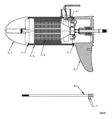 Схема Нижний блок в сборе (SW55 – переменная)(8M0096748)