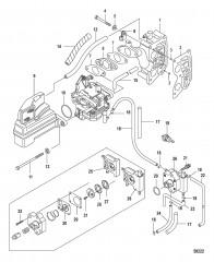 Intake Manifold and Fuel Pump