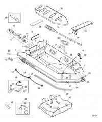 Схема Модель Air Deck Fish (Темно-серый)
