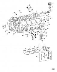 Компоненты двигателя (Блок цилиндров)
