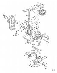 Транец и поворотные кронштейны (Усилитель дифферента)
