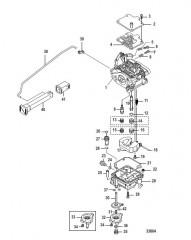 Схема Карбюратор 0R686020 и Ниже