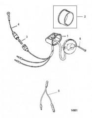 Комплект переключателя дифферентной системы (18286A18 и 18286A19)