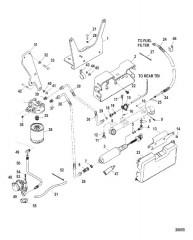 Топливный насос и охладитель топлива