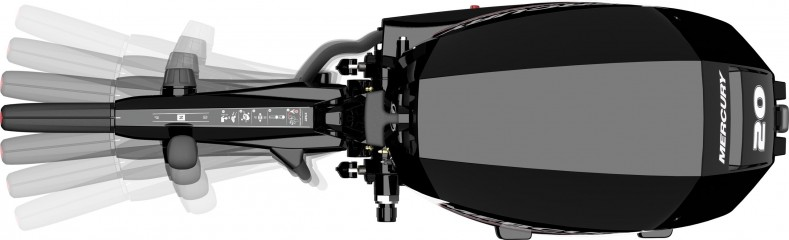 Лодочный мотор Mercury F20 MH EFI Изображение 7