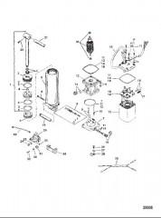 Компоненты усилителя дифферента (Конструкция I)