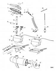 Двигатель для тралового лова в сборе (Sonar Fresh Water)(конструкция I)