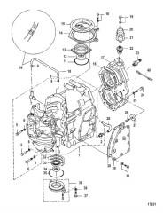 Схема Блок цилиндра С/н 0N162743 и ниже