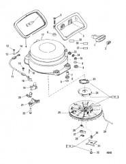 Схема Starter Assembly (Manual)