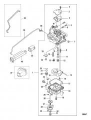 Carburetor 0R676746 and Up