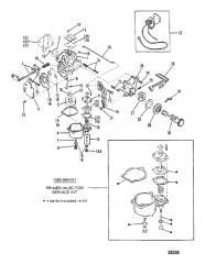 Схема КАРБЮРАТОР (WMC5A/WMC5B/WMC7/WMC7A/WMC19/WMC19A)