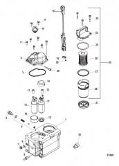 Компоненты топливного модуля