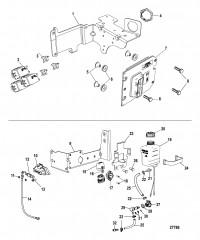 Электрические компоненты ECM, автоматический выключатель, бачок смазки