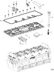 Схема Головка цилиндра Крышка опорной плиты